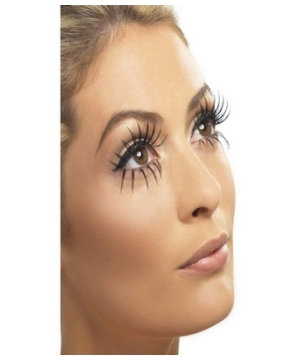 Gothic Manor Ghost Bride Adult Eyelashes