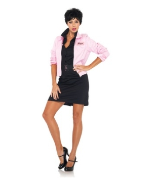 Grease Pink Ladies Womens Costume