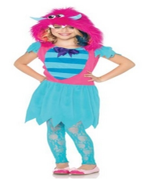 Growling Gabby Monster Kids Costume