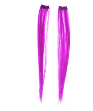 Magenta Hair Extensions