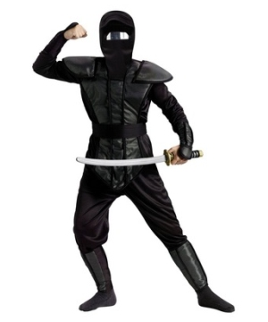 Haunted Mirror Ninja Teen Costume
