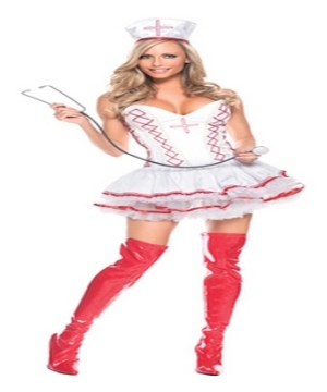 Home Care Nurse Womens Costume