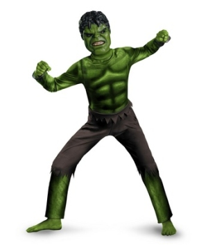 The Avengers Hulk Kids Costume