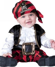 Captain Smelly Baby Costume
