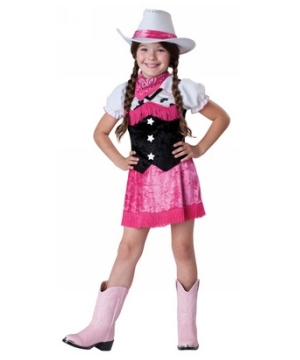 Cowgirl Cutie Kids Costume