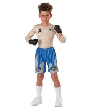 Impact Punch Fighter Kids Costume