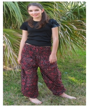 Spiral Harem Women Pants