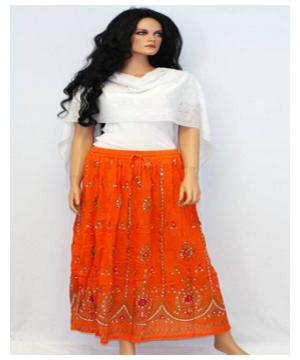 Bohemian Peasant Bohemian Long Skirt