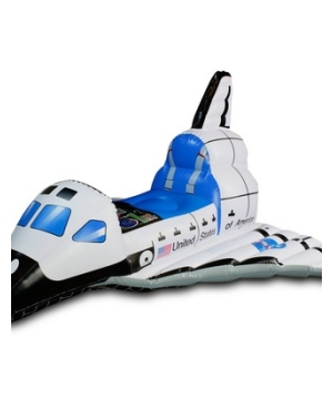 Inflatable Kid Space Shuttle