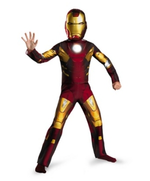 Avengers Iron Man Mark 7 Kids Costume