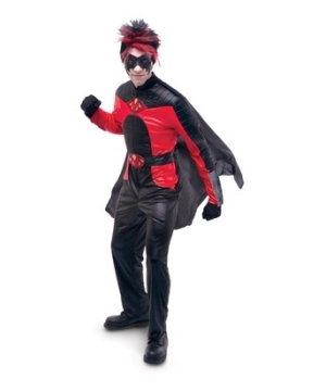 Kick-ass Movie Red Mist Adult Costume deluxe