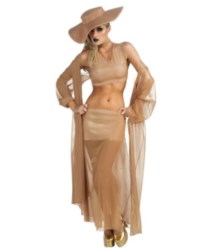 Lady Gaga Gold Adult Costume