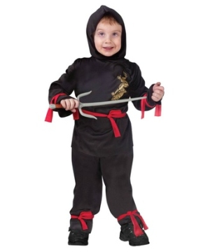 Little Ninja Kids Costume