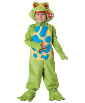 Little Froggy Kids Costume
