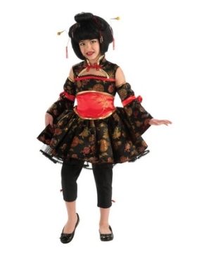 Little Geisha Kids Costume