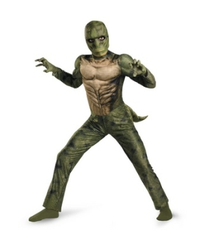 The Amazing Spiderman Lizard Teen/ Boys Costume