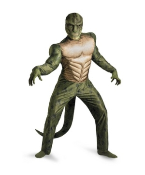 The Amazing Spiderman Lizard Muscle Mens Costume