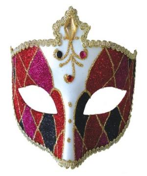 Mardi Gras Masquerade Adult Halloween Mask