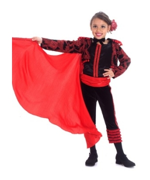 Maria the Matador Kids Costume