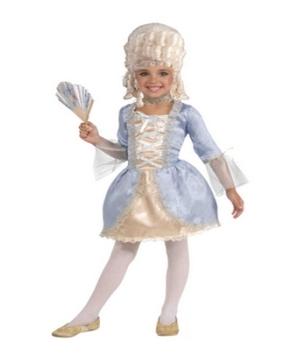 Marie Antoinette Girls Costume