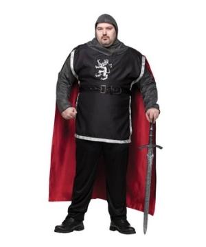 Medieval Knight Men plus size Costume