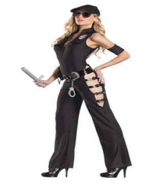 Sexy Midnight Sheriff Adult Costume