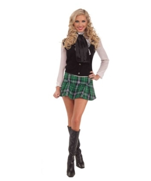 Mini Kilt Skirt Adult Costume