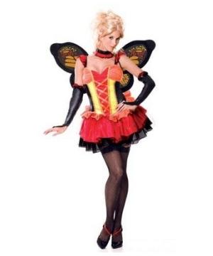 Monarch Butterfly Women's Costume deluxe