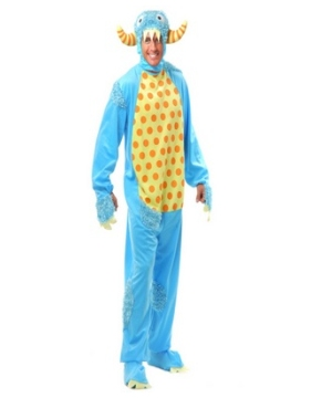 Blue Monster Adult Costume