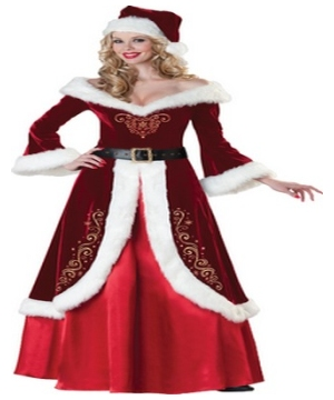 Mrs Saint Nick Adult Costume