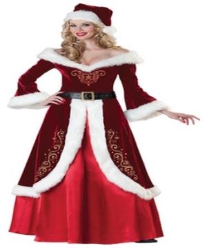 Mrs Saint Nick Adult Costume