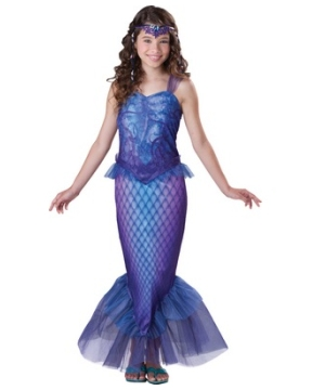 mermaid tween costume