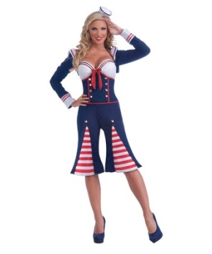 Nautical Millie Women Costume