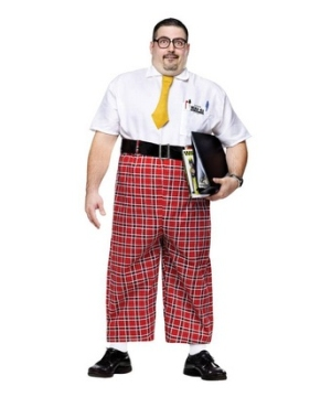 Nerd Adult plus size Costume