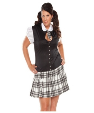 Night School Girl Adult plus size Costume