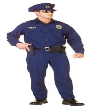 officer men costume