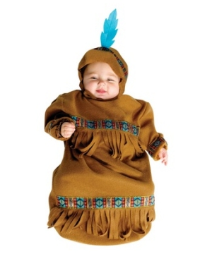 Papoose Bunting Baby Costume