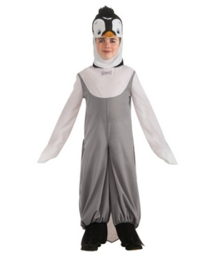 Dark Grey Penguin Kids Costume
