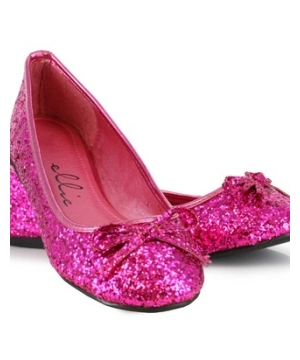 Pink Glitter Adult Shoes