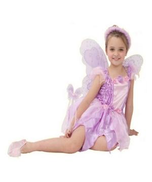 Pink Rosebud Fairy Kids Costume
