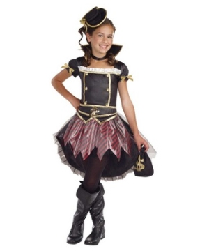 Pirate Princess Girl Costume
