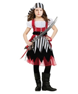 Pirate Queen Girl Costume