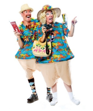 Traveling Tourist Adult Costume