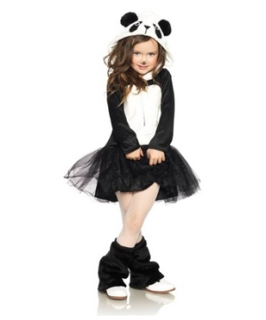 Pretty Panda Girl Costume