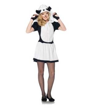 Pretty Panda Teen Costume