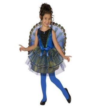 Pretty Peacock Girl Costume