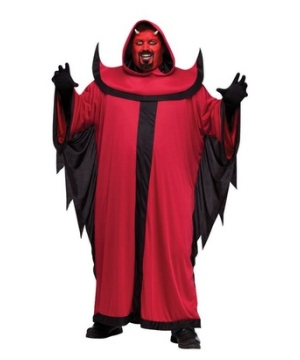 Prince of Darkness plus size Costume