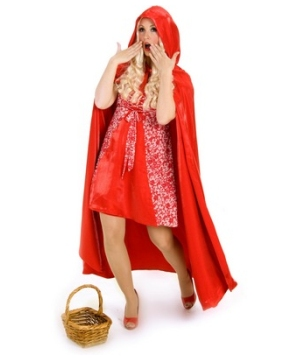 Princess Red Riding Hood Adult Cape