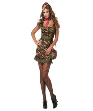 Private First Class Adult plus size Costume