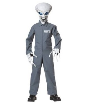Property of Area 51 Boys Costume